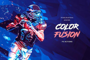 Color Fusion Paint Photoshop Actions