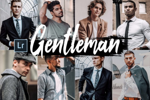 5x Gentleman Desktop Lightroom Presets