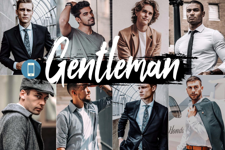5x Gentleman Mobile Lightroom Presets
