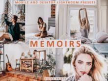 MEMOIRS Lightroom Desktop + Mobile Presets
