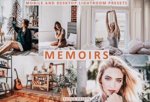 MEMOIRS Lightroom Desktop + Mobile Presets