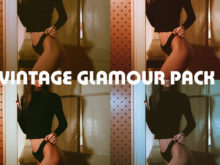 Vintage Glamour Lightroom Presets Pack