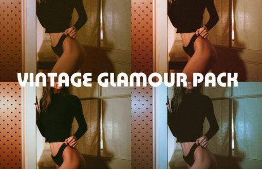 Vintage Glamour Lightroom Presets Pack