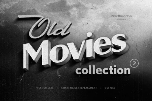 Old Movie Titles Collection 2 (Photoshop)