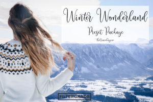 Winter Wonderland Lightroom Presets