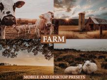 FARM LIFE Mobile + Desktop Lightroom Presets