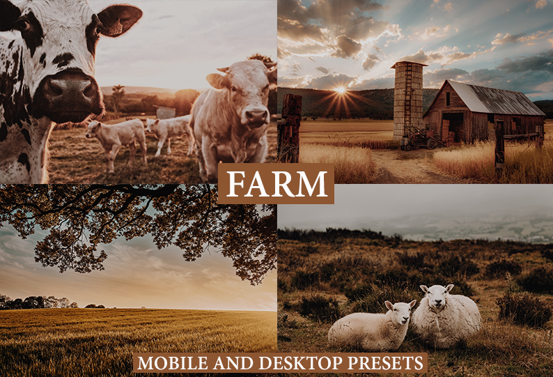 FARM LIFE Mobile + Desktop Lightroom Presets