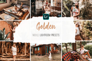 Mobile Lightroom Presets - Golden