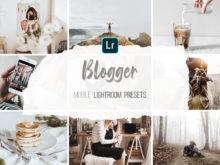 Mobile Lightroom Presets - Blogger Lifestyle