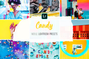 Mobile Lightroom Presets - Candy