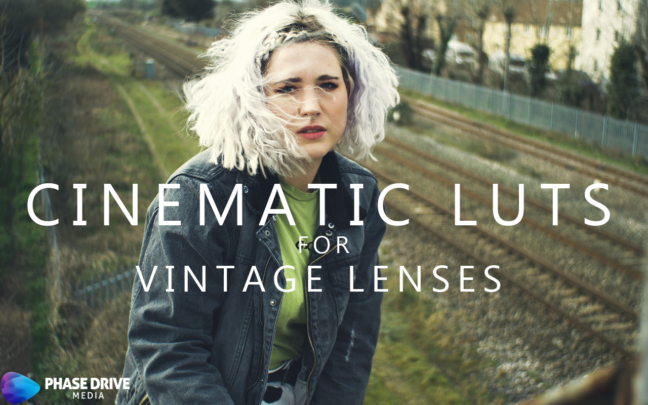 Phase Drive Media's Cinematic LUT Pack for Vintage Lenses