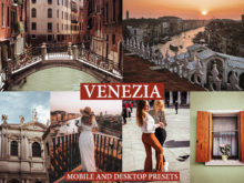 VENEZIA Mobile & Desktop Lightroom presets