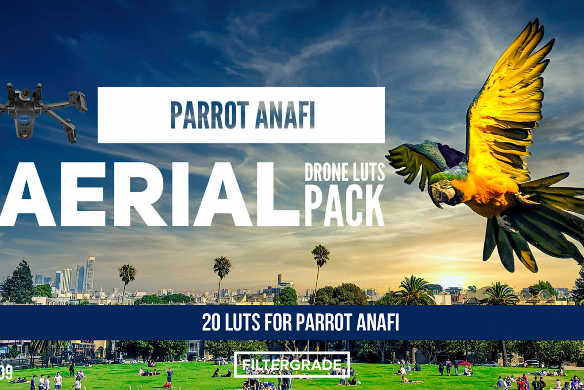 Parrot Anafi - Aerial Drone LUTs Pack