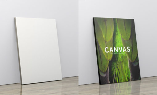 Portrait Canvas Ratio 4x5 Mockup 02