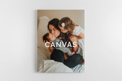 Portrait Canvas Ratio 3x4 Mockup 01