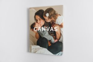 Portrait Canvas Ratio 3x4 Mockup 02