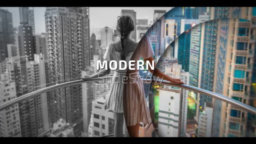 Circles Modern Slideshow AE Template