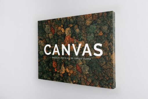 Landscape Canvas Ratio 4x3 Mockup 02