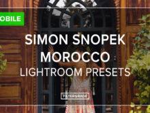 Simon Snopek Mobile Lightroom Presets - FilterGrade