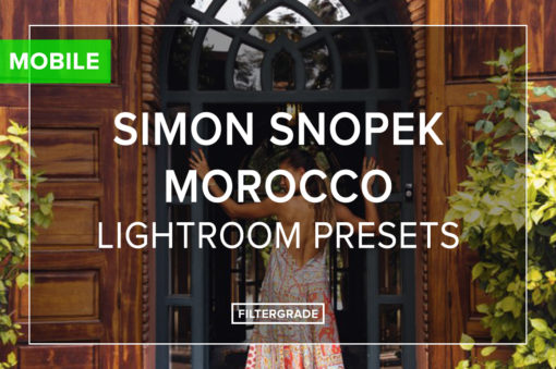 Simon Snopek Mobile Lightroom Presets - FilterGrade
