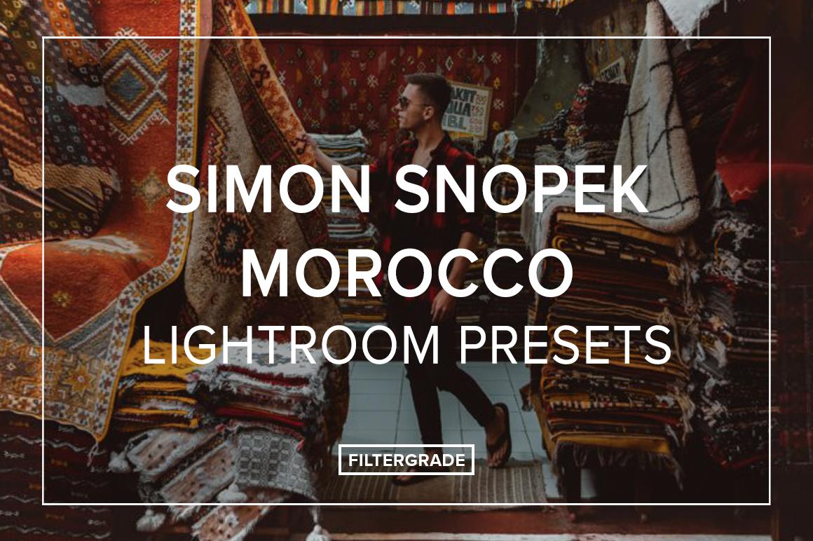 Simon Snopek Morocco Lightroom Presets - FilterGrade