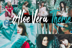 Aloe Vera Theme Mobile Lightroom Presets