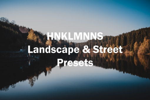 HNKLMNNS 2019 Lightroom Presets