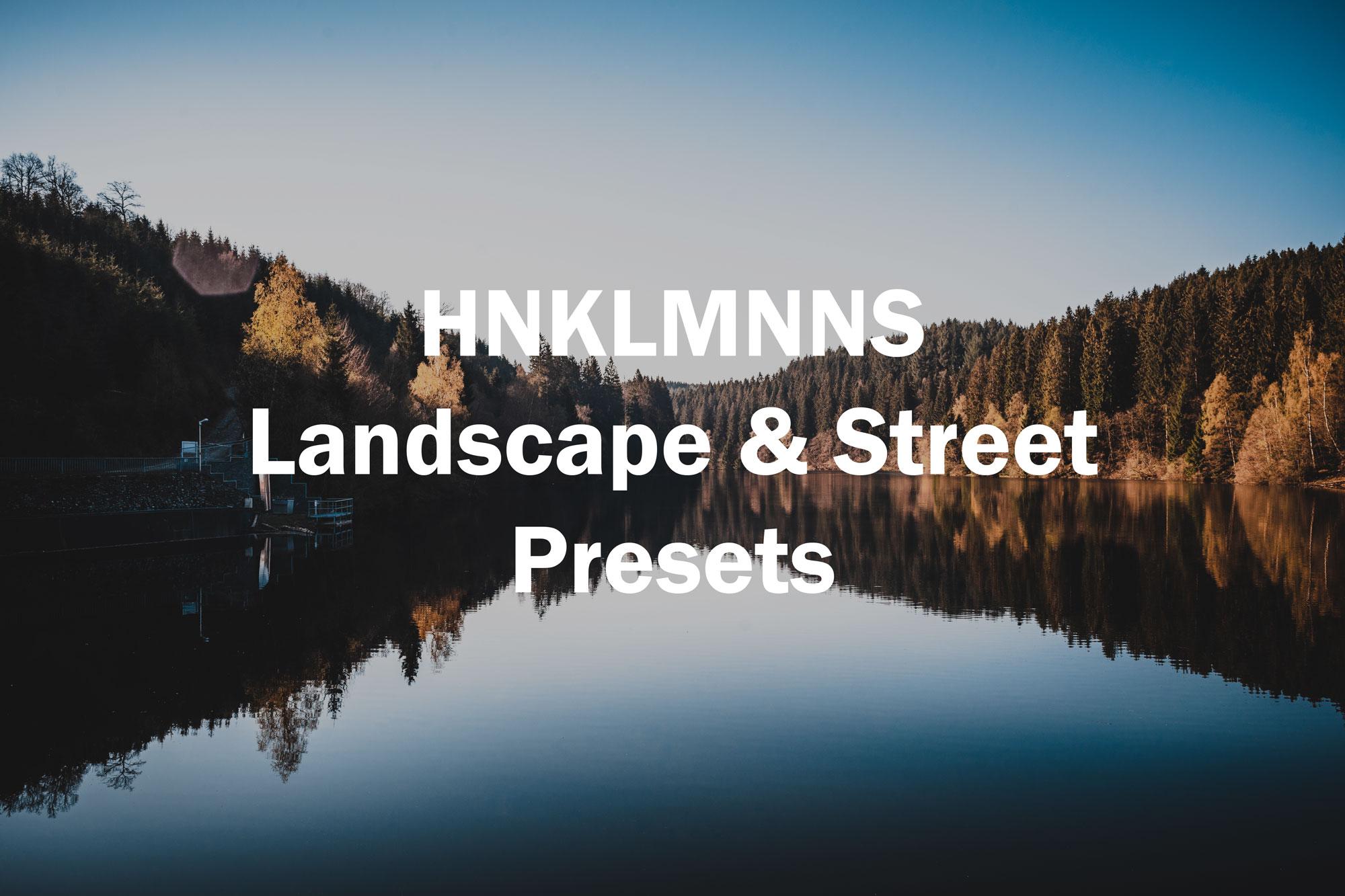HNKLMNNS 2019 Lightroom Presets