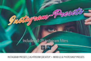 Instagram Presets | Lightroom and Photoshop Bundle