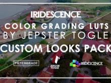 Jepster Togle's Iridescence Custom Looks LUT Pack