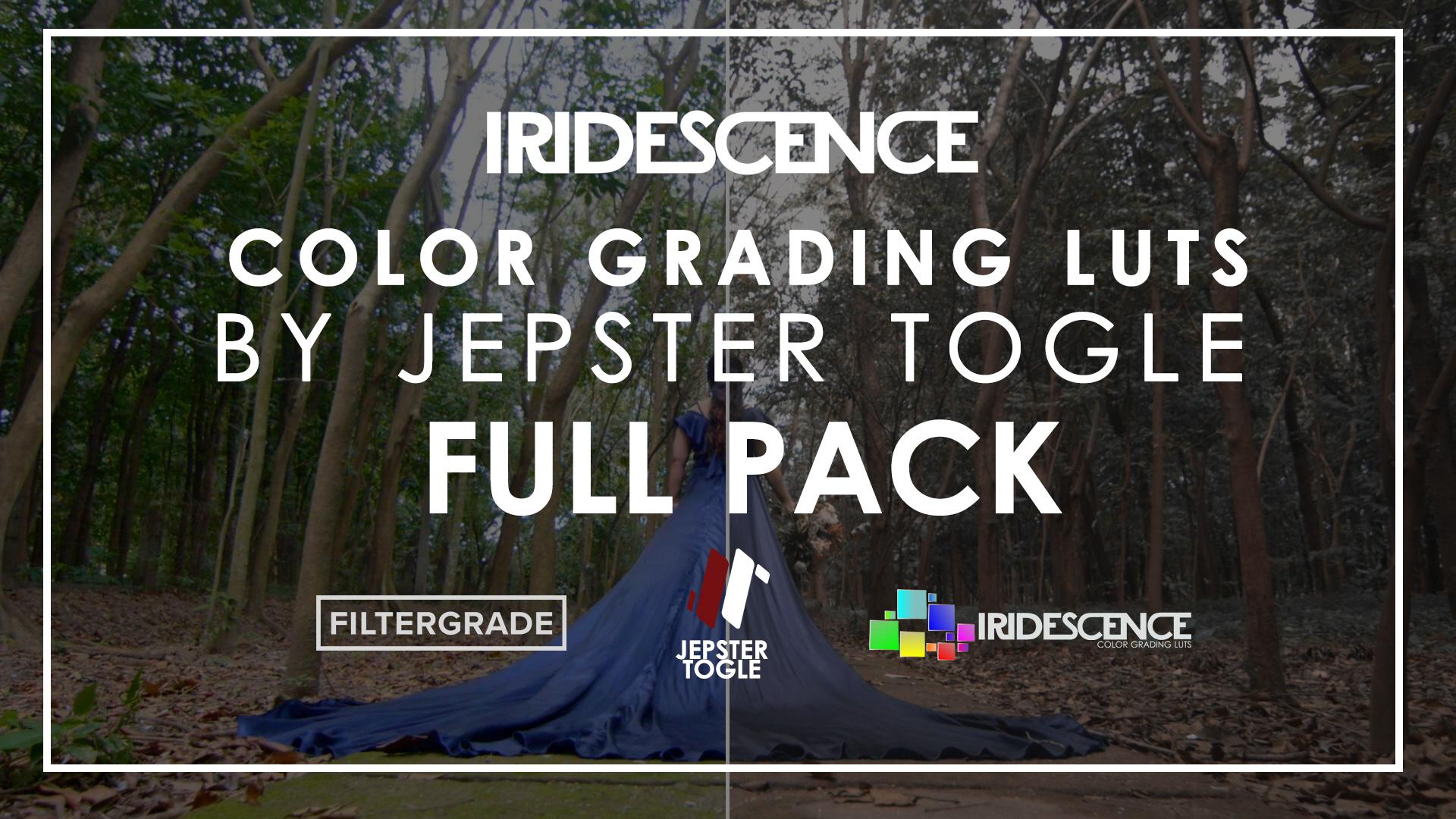 Jepster Togle's Iridescence Full LUTs Bundle