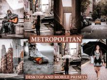 METROPOLITAN Lightroom Desktop and Mobile Presets