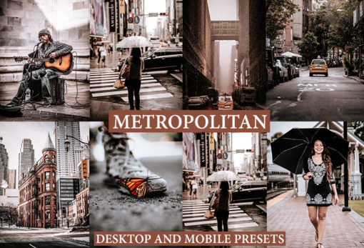 METROPOLITAN Lightroom Desktop and Mobile Presets