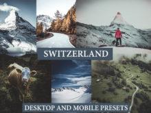 SWITZERLAND Desktop and Mobile Lightroom Presets