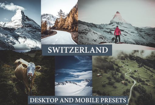 SWITZERLAND Desktop and Mobile Lightroom Presets
