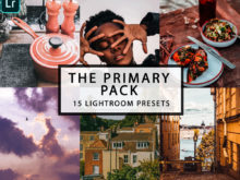 The Primary Pack - 15 Lightroom Presets