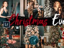 5x Christmas Eve Desktop Lightroom Presets