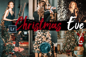 5x Christmas Eve Desktop Lightroom Presets