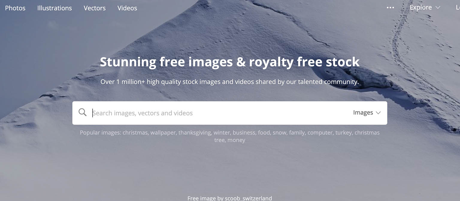 upload photos to free stock sites