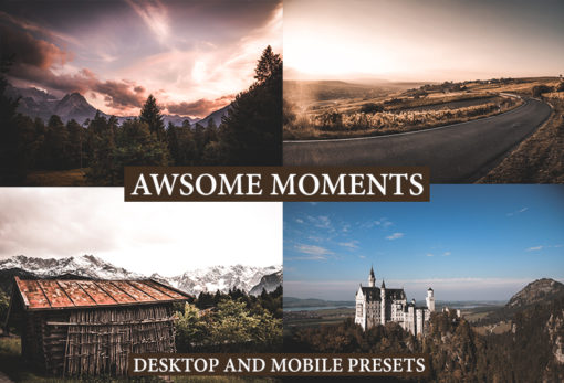 AWSOME MOMENTS Desktop and Mobile Lightroom Presets