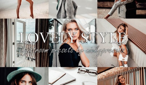 LOVELY STYLE Lightroom Presets for Lifestyle Photography by Nicky Presets