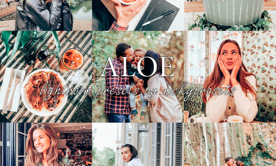 ALOE Lifestyle Lightroom Presets by Nicky Presets