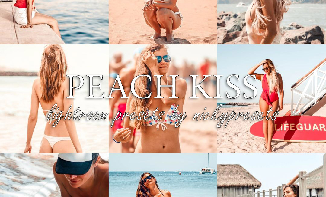 PEACH KISS Lifestyle Lightroom Presets by Nicky Presets