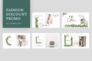Fashion Discount Promo AE Template
