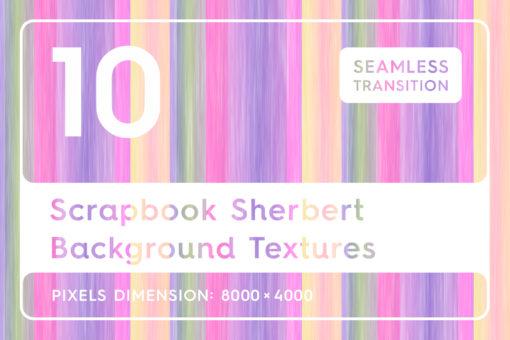 10 Scrapbook Sherbert Textures