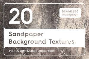 20 Sandpaper Background Textures
