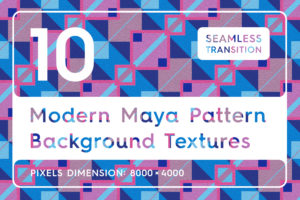 10 Modern Maya Pattern Backgrounds