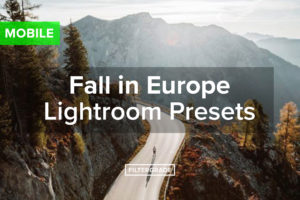 Fall in Europe Lightroom Presets MOBILE - simonsnopek - FilterGrade
