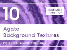 10 Agate Background Textures