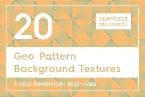 20 Geo Pattern Background Textures